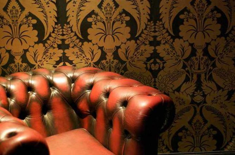 Leather Booth