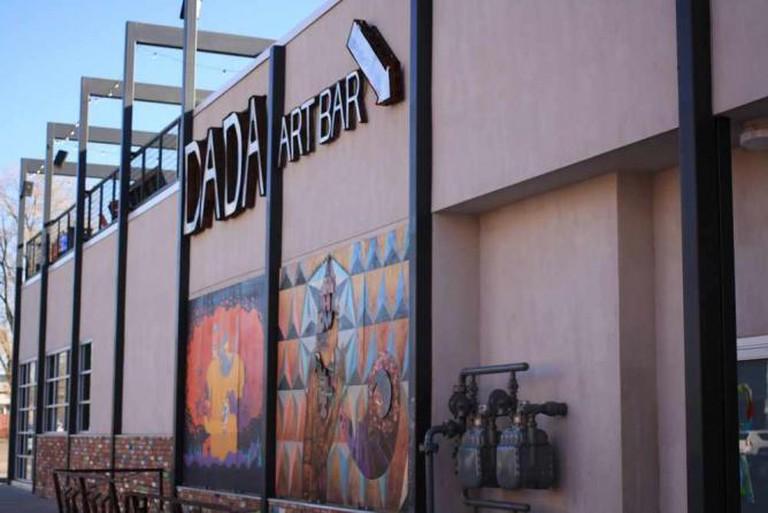 DADA Art Bar Exterior