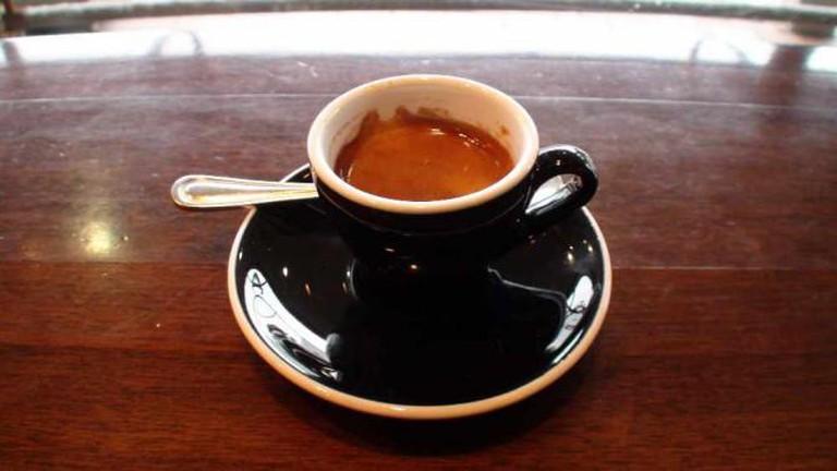 Espresso at Strawberry Fare