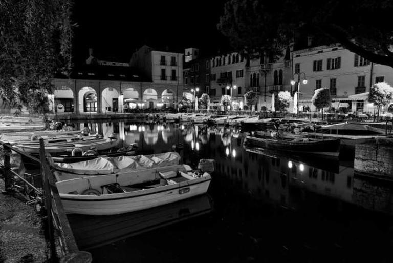 Desenzano del Garda at night