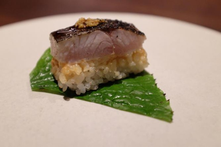 Mackerel Sabazushi