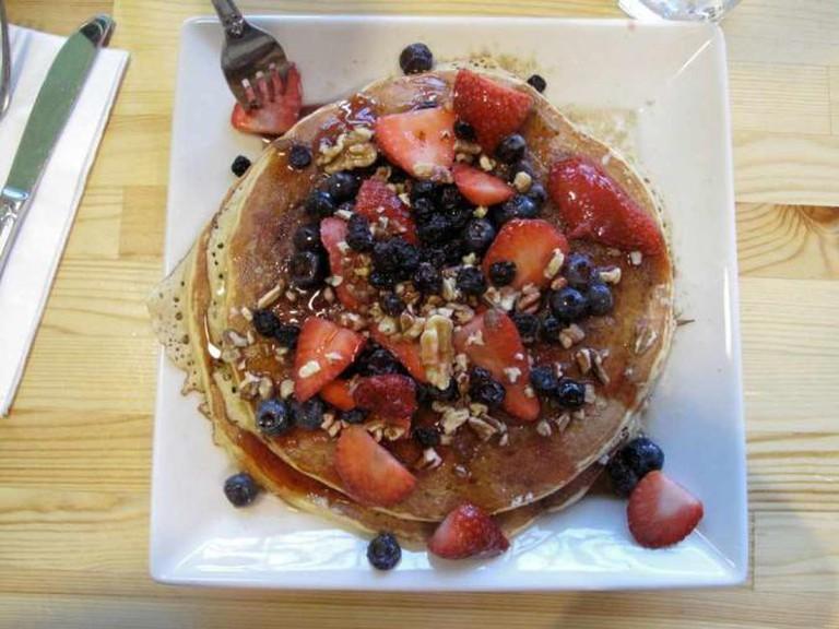 A sweet breakfast choice at Portage Bay Café