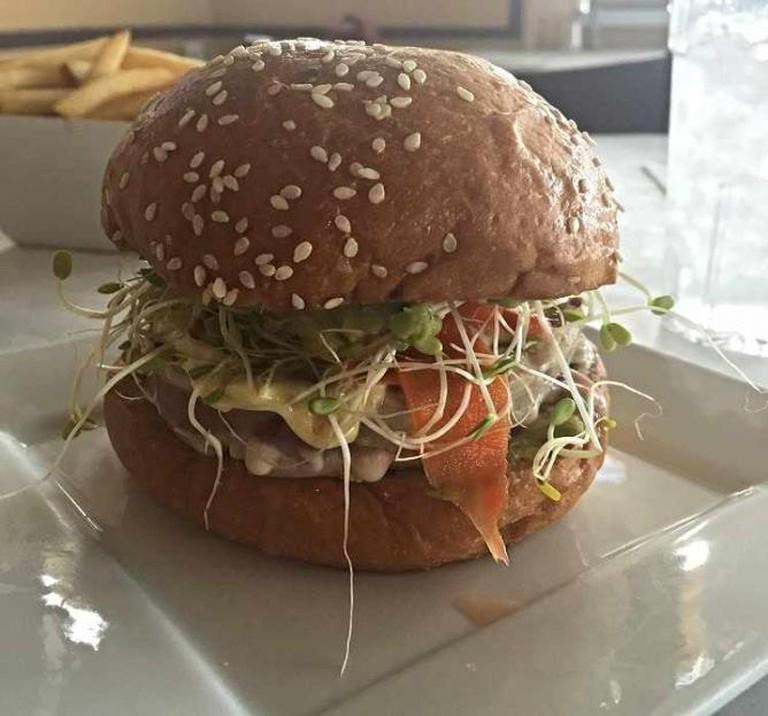 Ahi Delight at Fusion Burgers