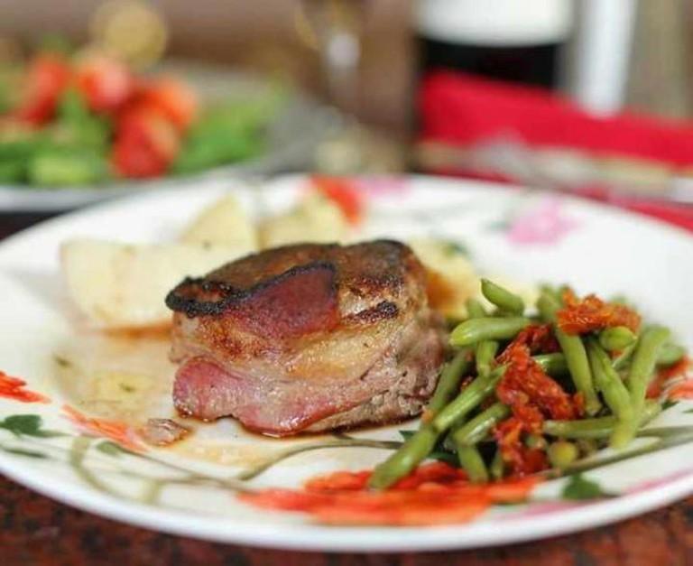 Potpourri House steak