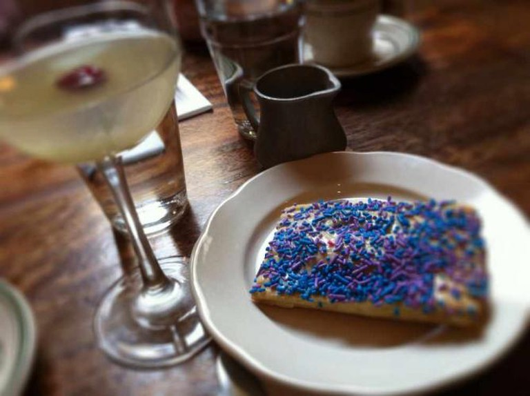 New Year's brunch at Ted's Bulletin