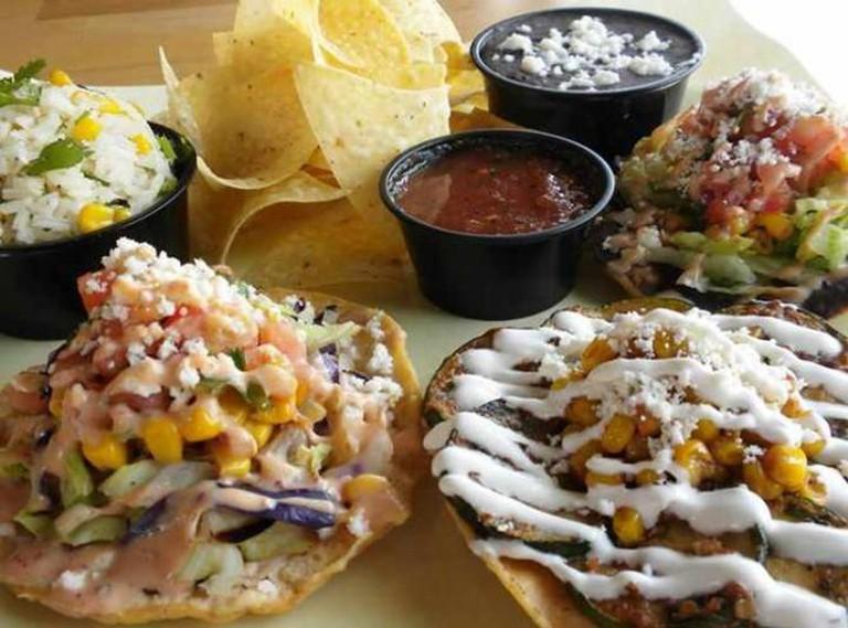 Taco Ocho eats