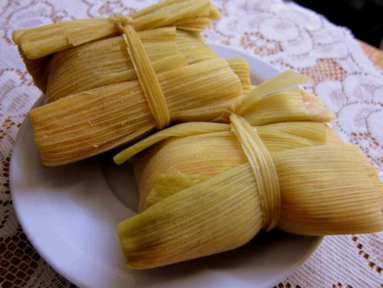 Typical humitas from Argentina