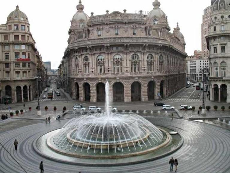 Palazzo della Borsa, Genoa