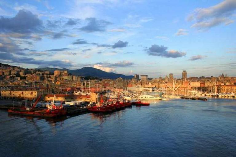 Genoa's harbor