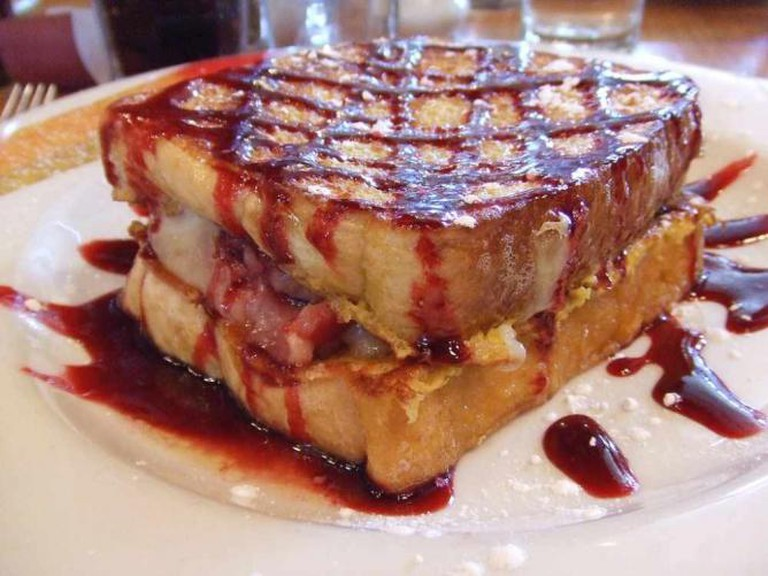 Monte Cristo French Toast, The Hudson Cafe