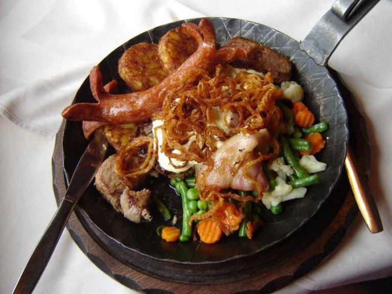 Bavarian dish