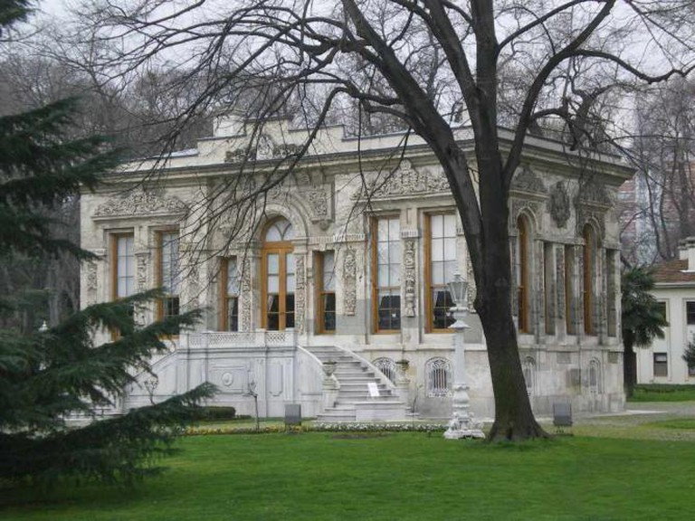 The Court Pavilion in the gardens of Ihlamur Palace