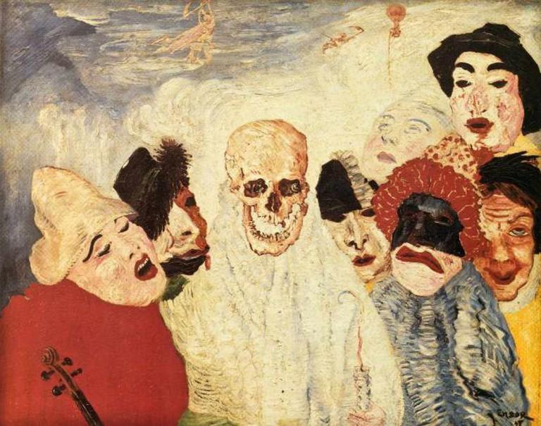 James Ensor painting