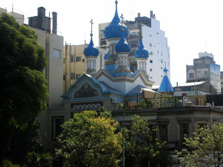 Russian Orthodox Church, Parque Lezama