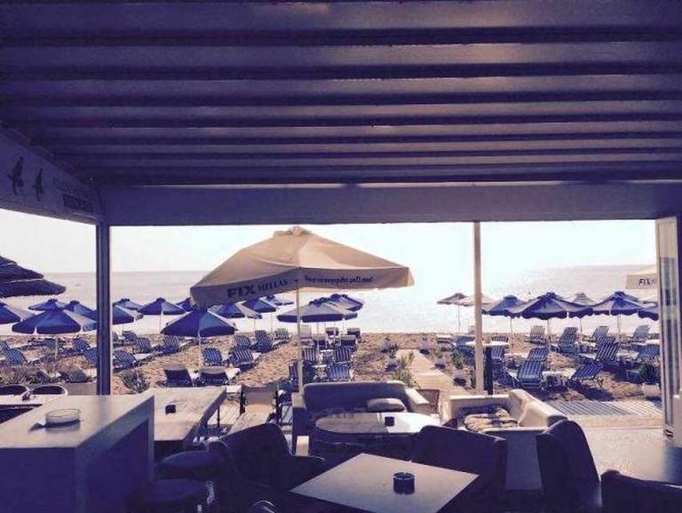 Chaplins view of the beach