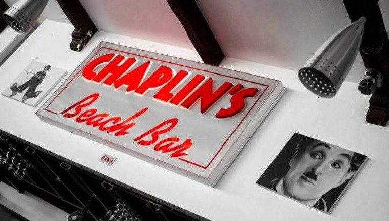 Chaplin's interior design