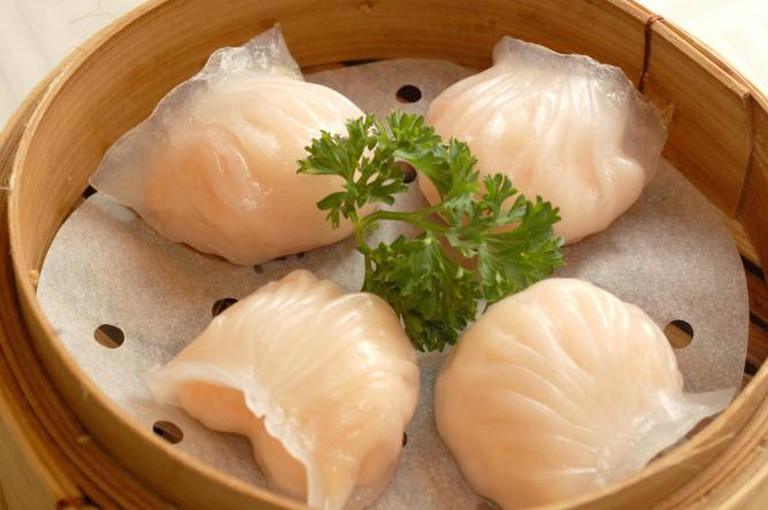 Dim sum - shrimp dumplings