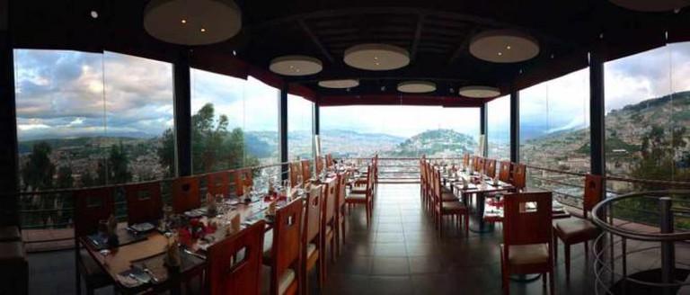 Panoramic view from El Ventanal