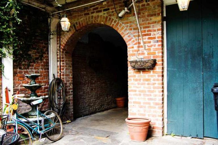 Royal Street Courtyard