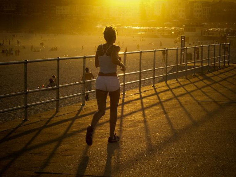 Girl Jogging - Sydney, Australia