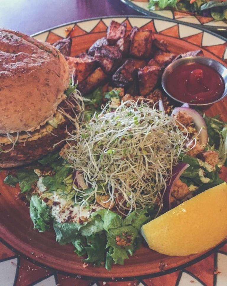 Big Marc burger, Calactus