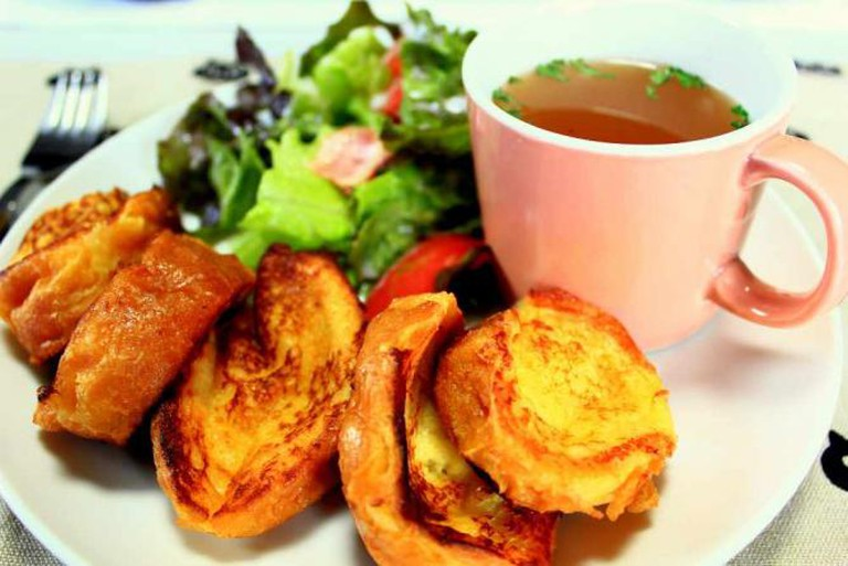 Savory French Toast Plate