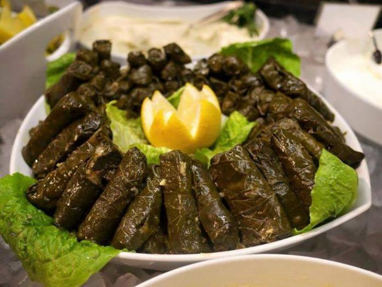 Meal at Janan's Kitchen