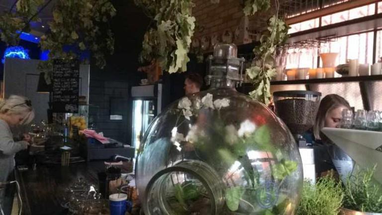 South of Johnston, Offspring's favorite little café