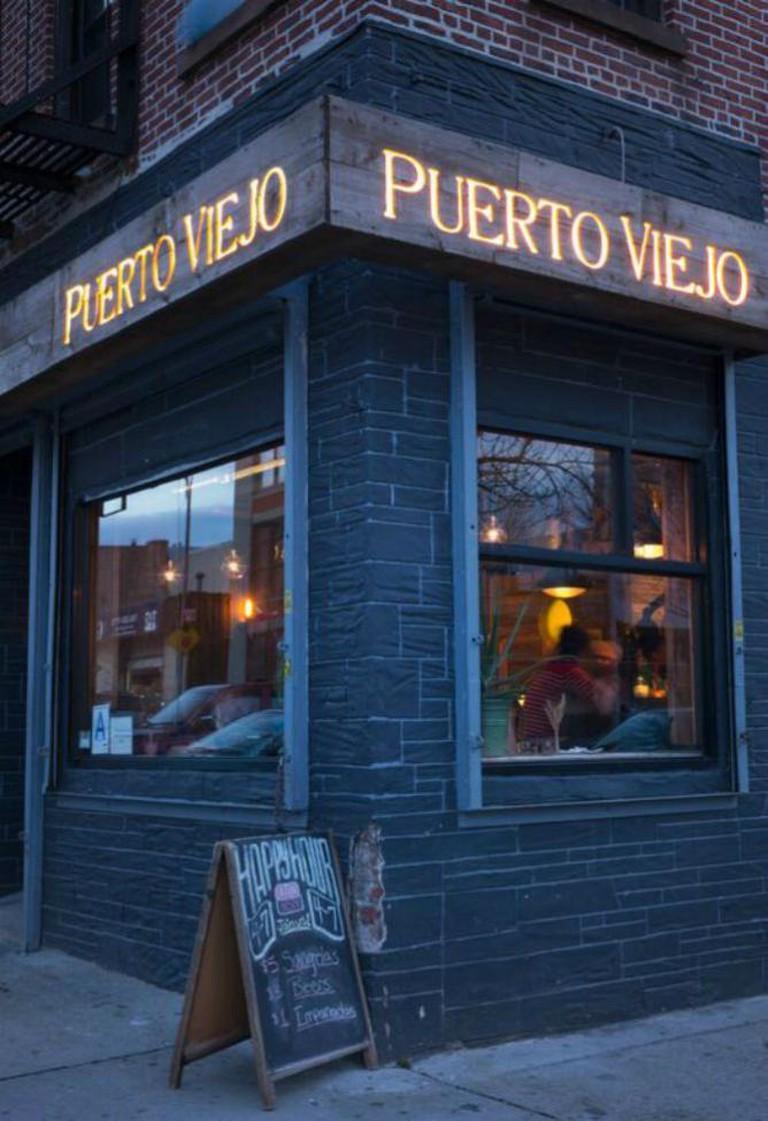 Exterior of Puerto Viejo