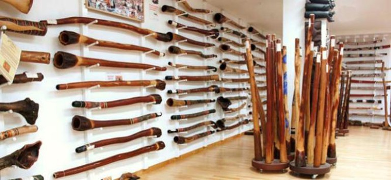 Didgeridoos at Spirit Gallery