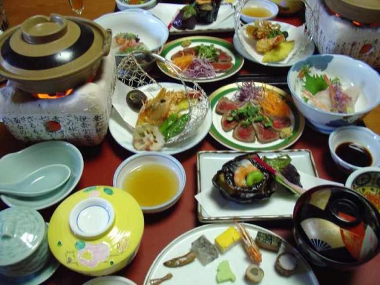 14-course Kaiseki meal