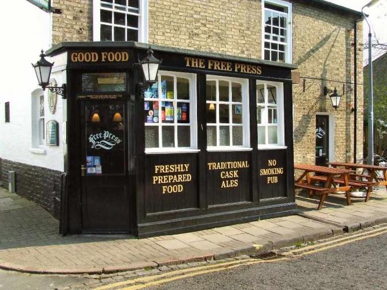 The Free Press pub exterior