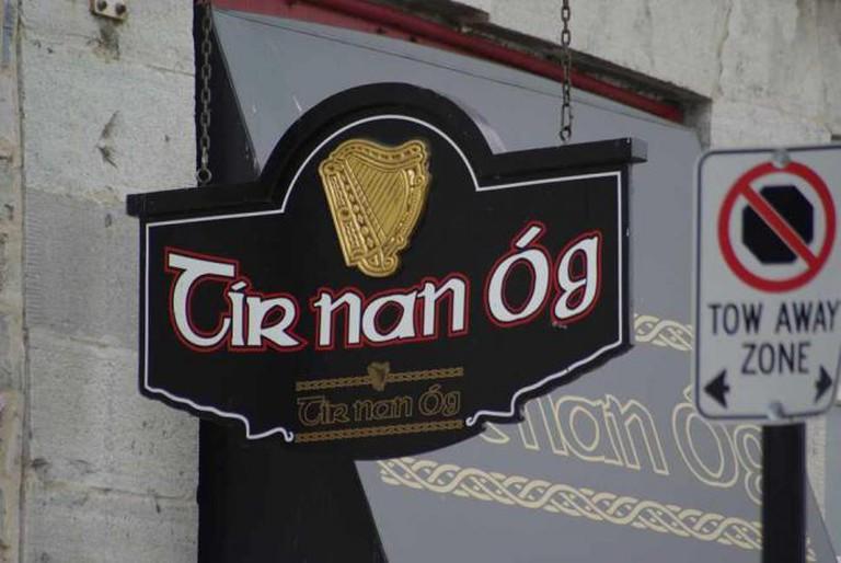 Tir Nan Og sign, Kingston Ontario