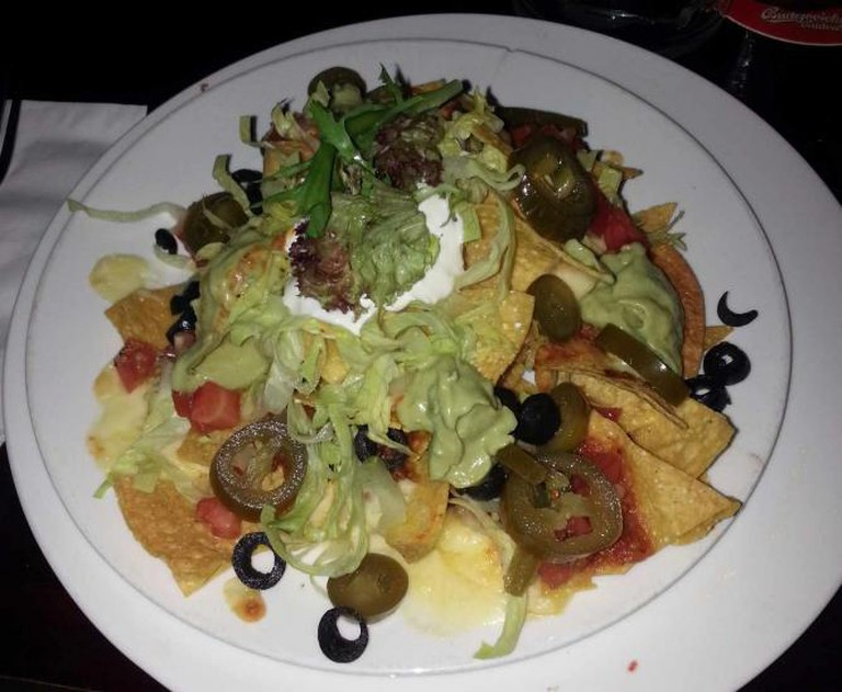 Look! Lettuce! It's totally healthy! - The Chalet Nacho's