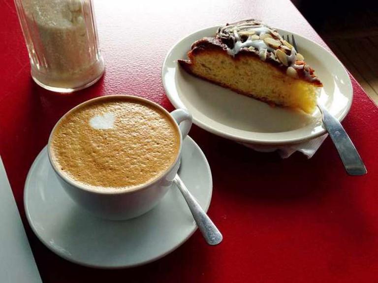 Almond Milk Cappuccino