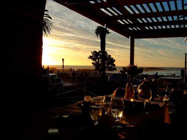 Sunset view from Paranga restaurant