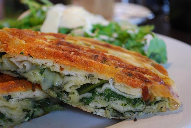 Spinach and Ricotta Borek