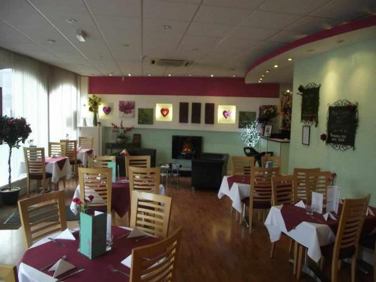 The Grove Bistro dining room
