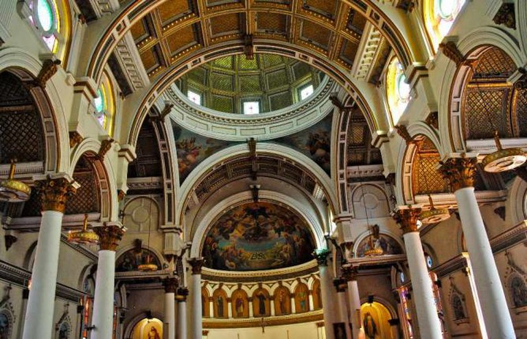 Ceiling of St. Leonard's Church
