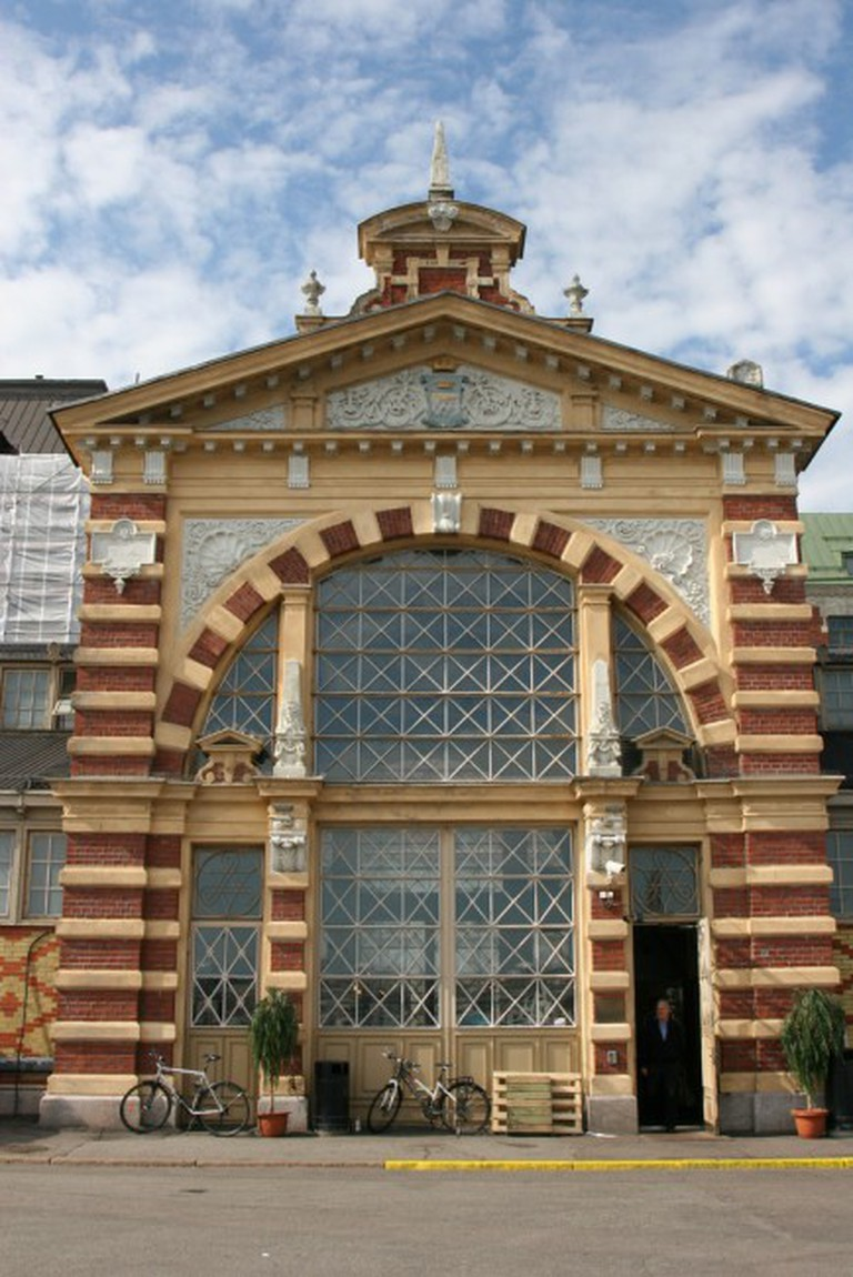 The Front of the Old Market Hall