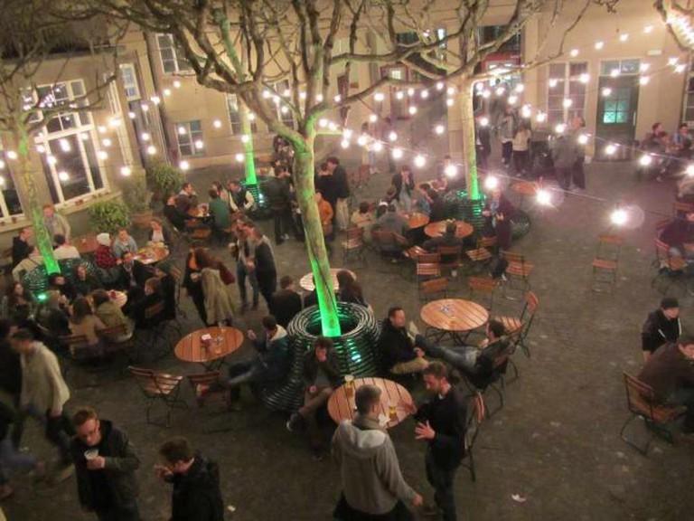 Courtyard at Volkshaus