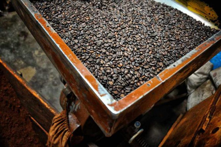 Roasted coffee Harar