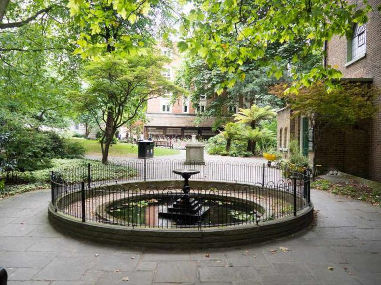 Postman's Park and the Memorial to Heroic Self Sacrifice