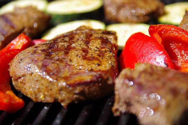 Grill, Steak, Barbeque Meat