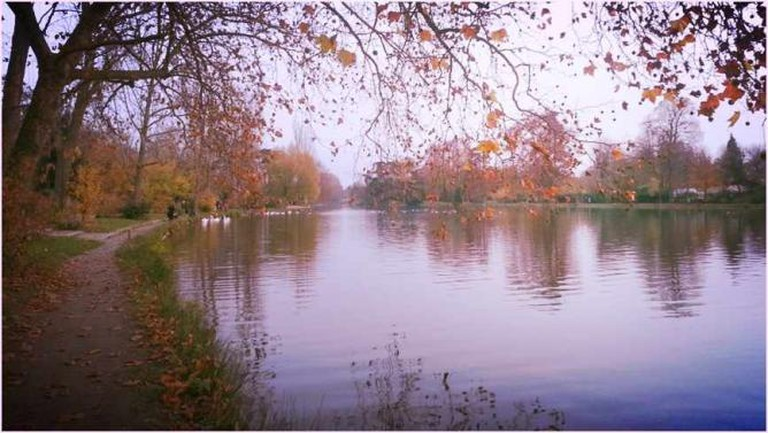 Lac Daumesnil in Bois de Vincennes