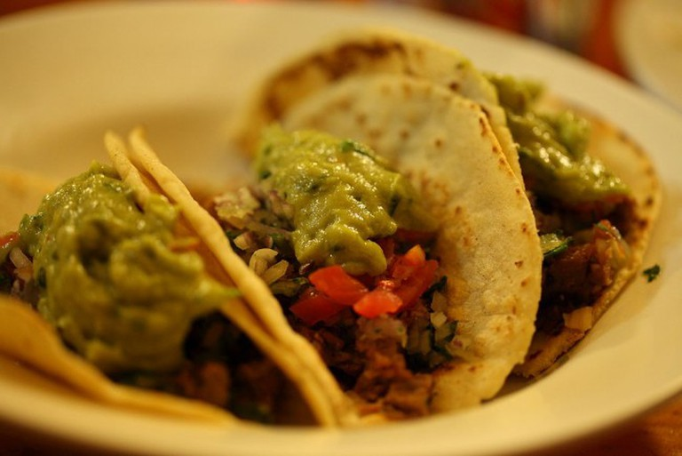 Beef Tacos are on the menu