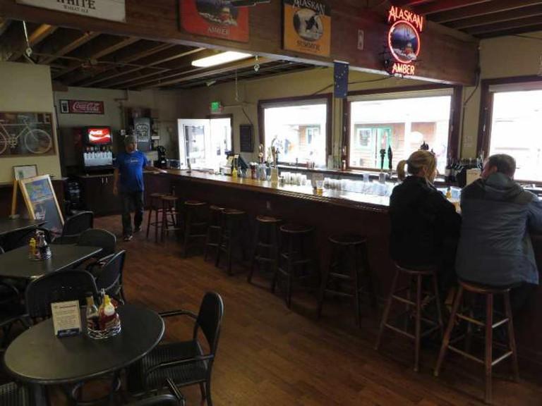 The Flight Deck bar