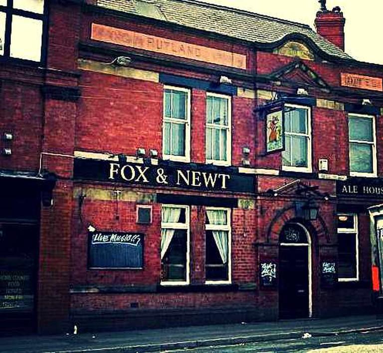 Fox & Newt exterior