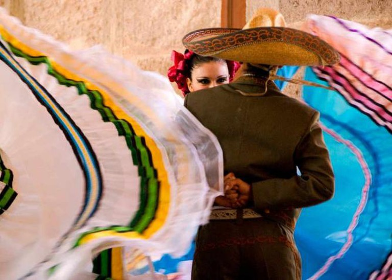 Traditional Mexican attire