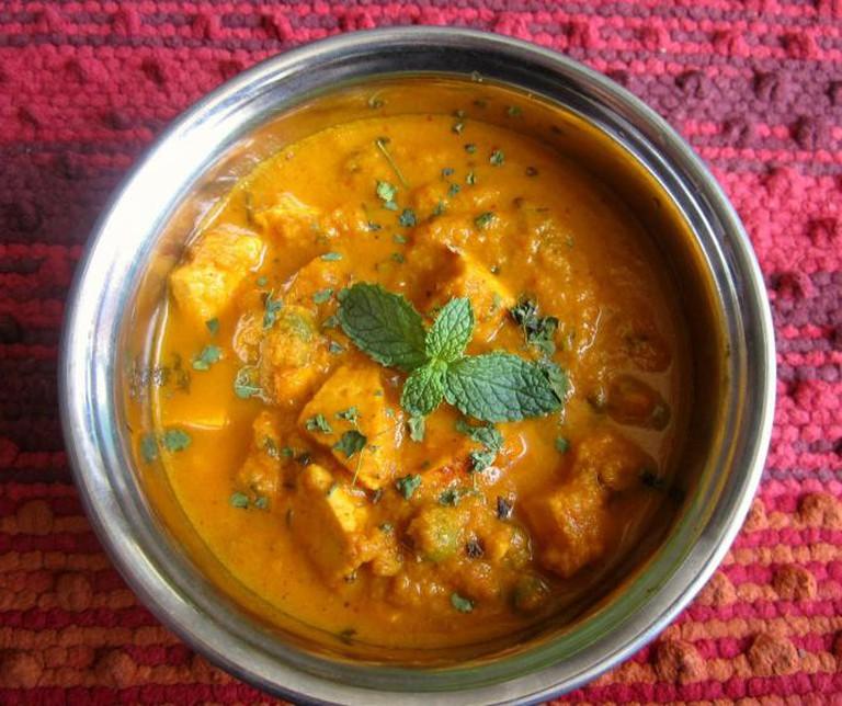 Vegetarian Paneer Curry